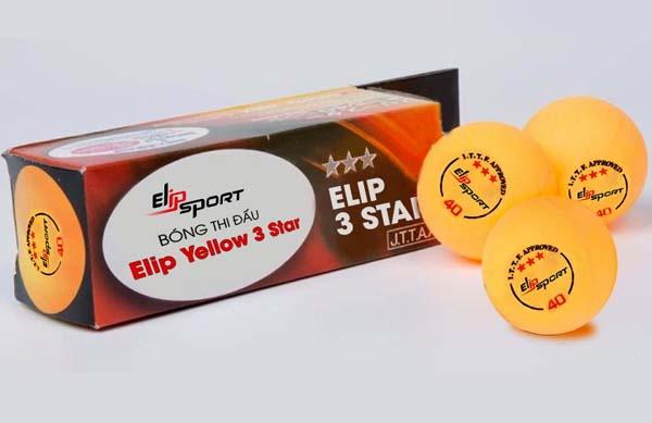 quả bóng bàn tiêu chuẩn elip