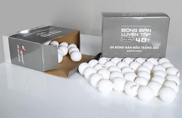 kích thước quả bóng bàn