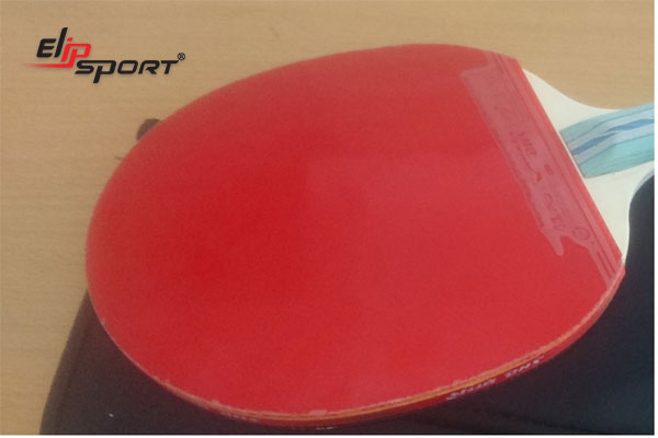 mặt vợt bóng bàn bị chai