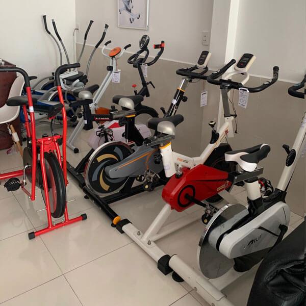 Xe đạp tập thể dục Sa Đéc