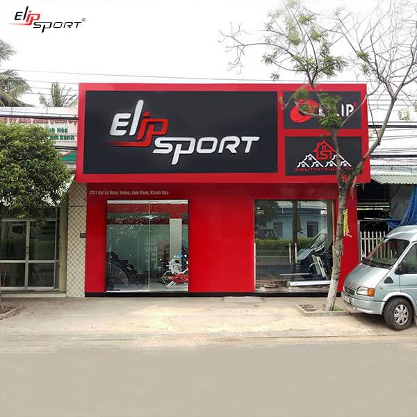 Mặt tiền cửa hàng bán máy chạy bộ Cam Ranh