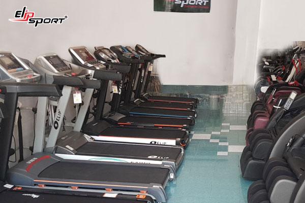 máy tập chạy bộ điện Bình Định