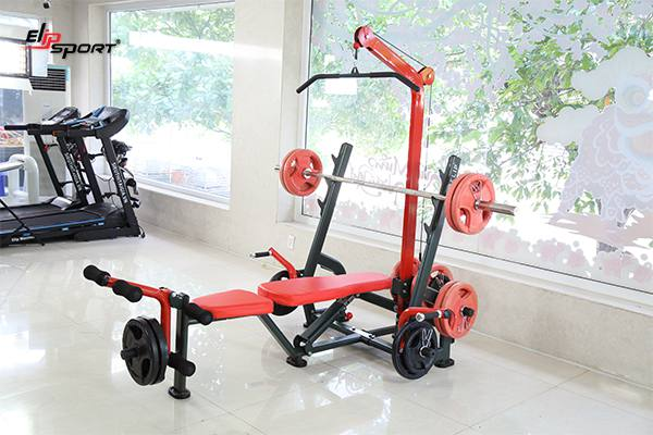 Dụng cụ máy tập gym, thể hình tại TP.Vĩnh Long