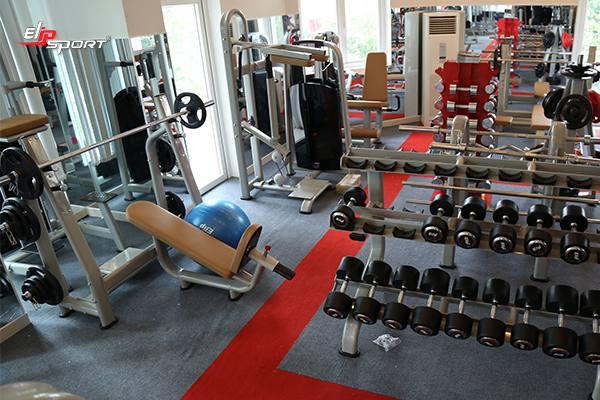 Dụng cụ máy tập gym, thể hình uy tín tại  Quận 5 - TP. HCM