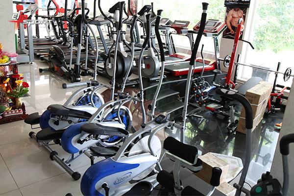 Dụng cụ máy tập gym, thể hình tại Hoàn Kiếm - Hà Nội