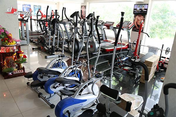 Dụng cụ máy tập gym, thể hình tại TP.Thái Nguyên