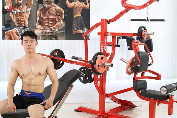 Nơi bán giàn ghế tạ đa năng tại Tân An