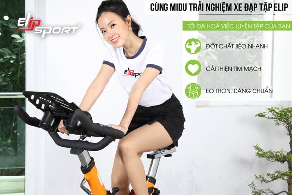 Các loại xe đạp tập thể dục bán chạy