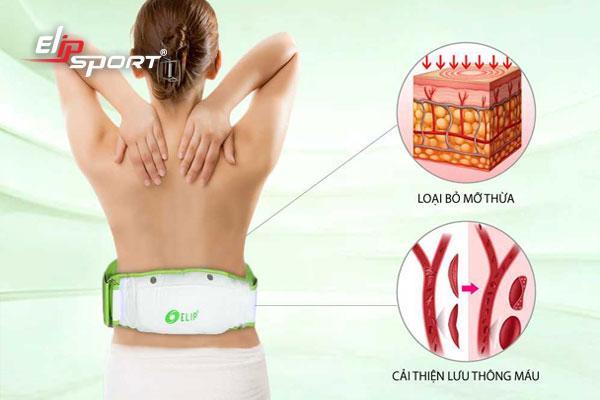 máy massage tan mỡ bụng