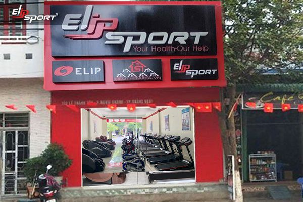 Cửa hàng dụng cụ, thiết bị máy tập thể dục thể thao TP. Quảng Ngãi