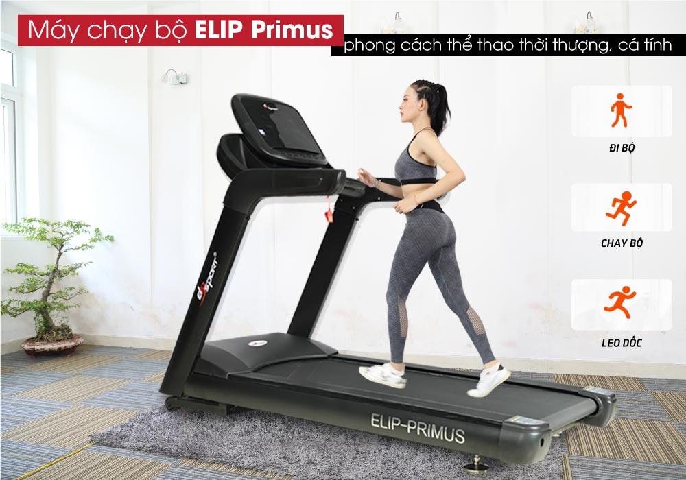 Máy chạy bộ điện ELIP Primus trả góp