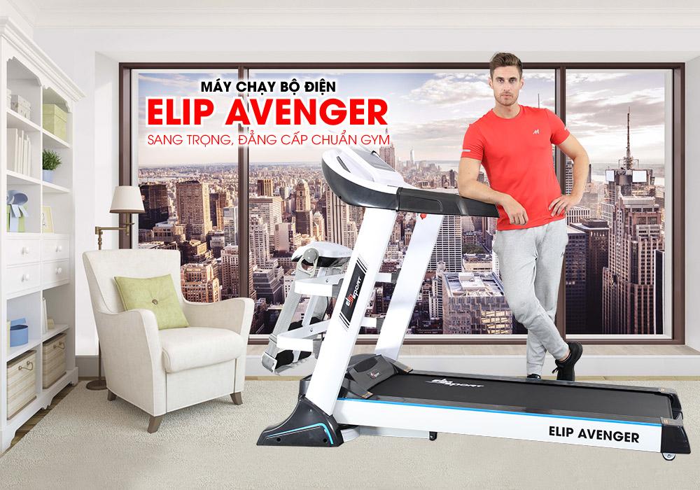Máy chạy bộ ELIP Avenger trả góp