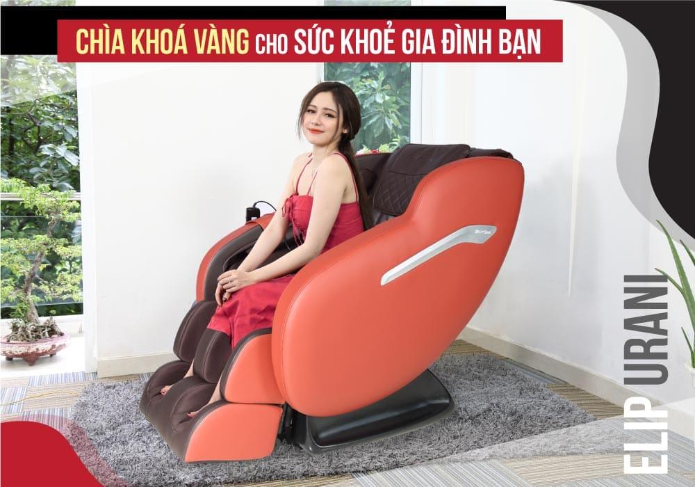 Top 5 mẫu ghế massage