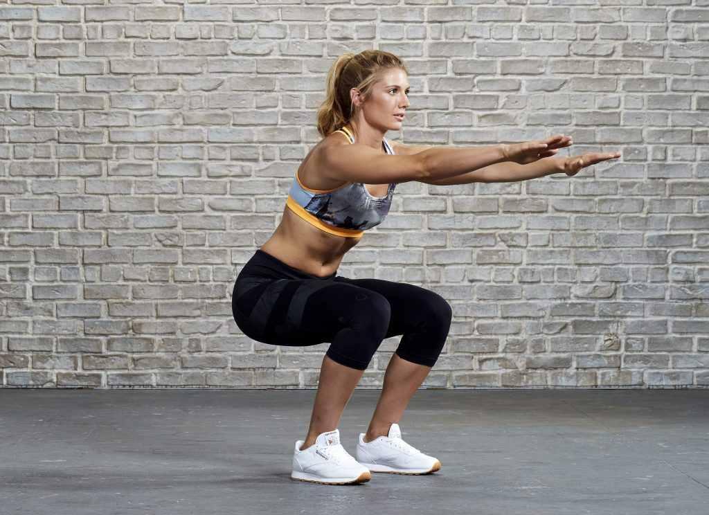 thực đơn giảm cân kết hợp squat