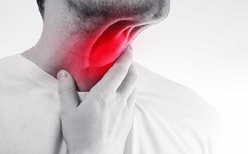 chữa viêm họng