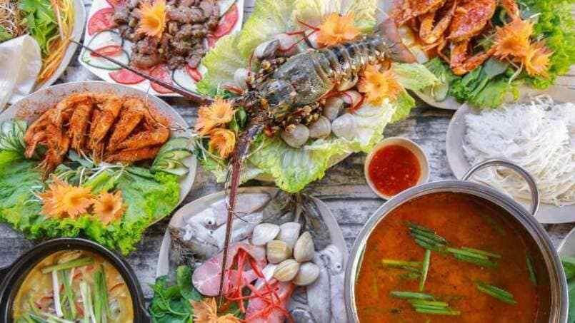 ăn gì ở Đà Nẵng: hải sản