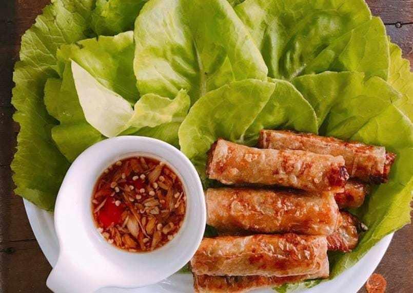 ăn gì ở Đà Nẵng: chả ram