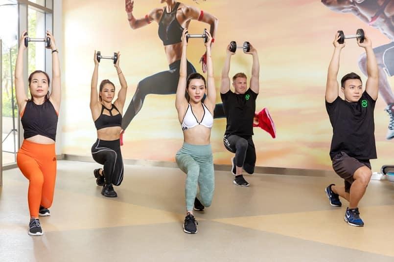 bai tap aerobic 15 phut