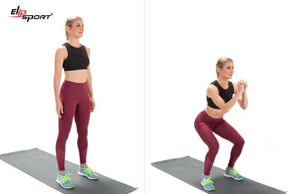hướng dẫn tập squat