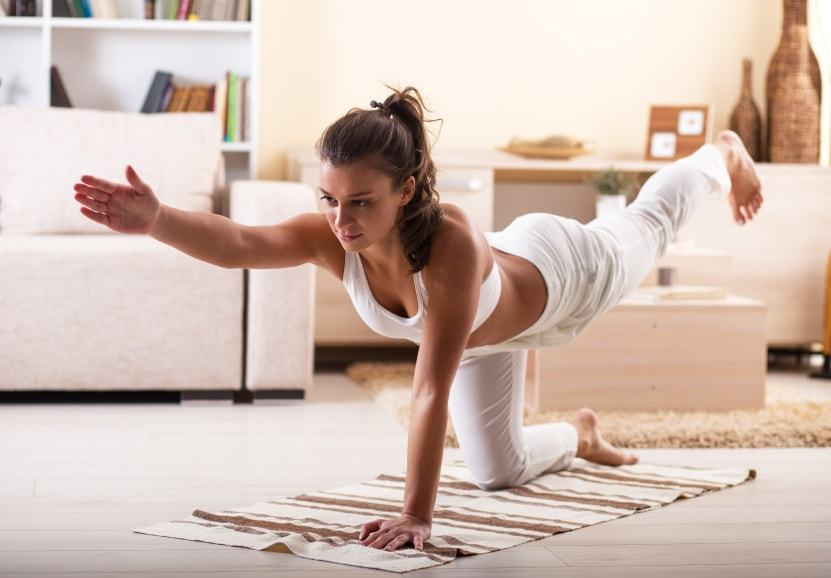 tư thế tập yoga tại nhà