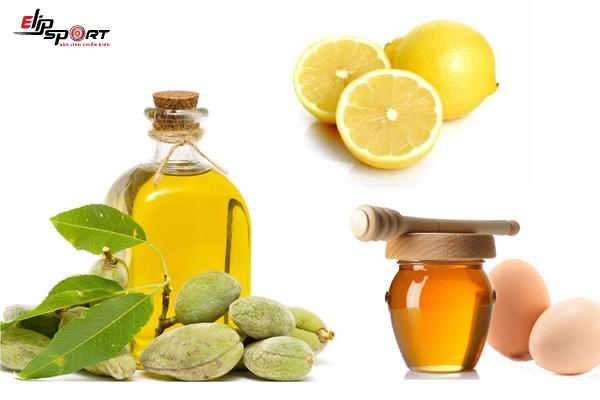 Massage Mặt bàng dầu oliu, chanh, mật ong