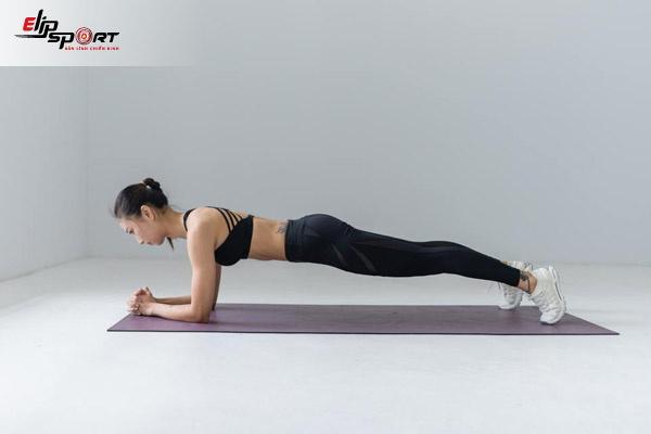 các bài tập giảm mỡ bụng với plank