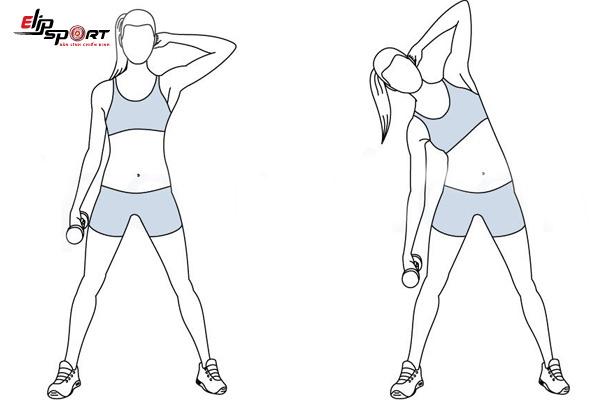 bài tập aerobic giảm mỡ bụng