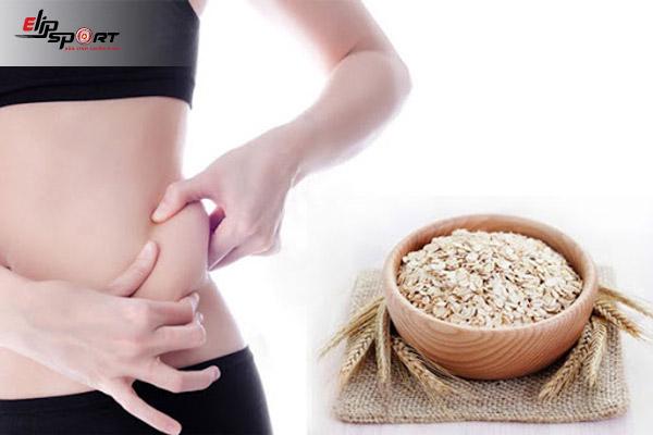 giảm cân với yến mạch
