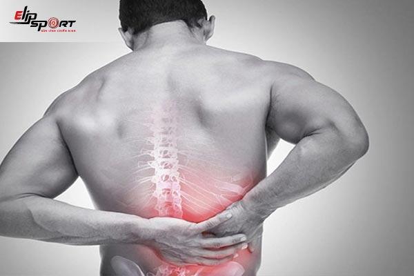 đau lưng vùng thắt lưng