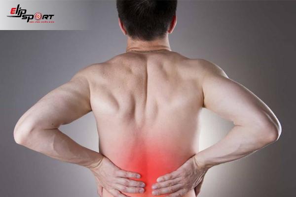 đau phía sau lưng