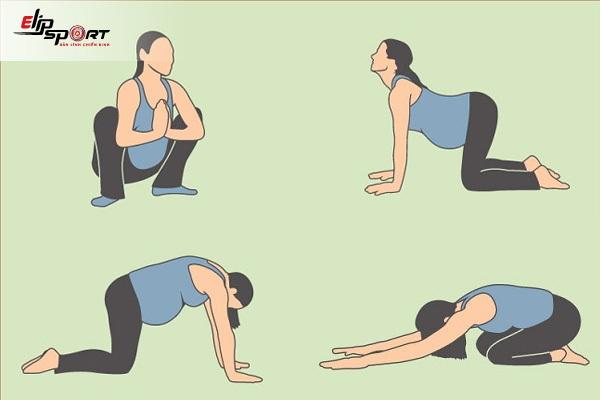 giảm đau lưng khi mang thai
