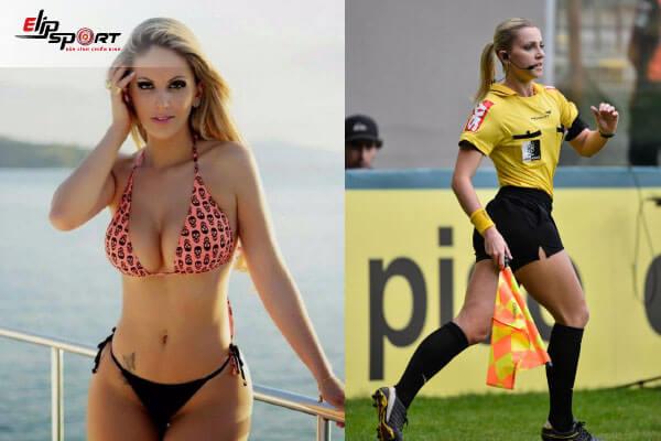 nữ trọng tài bóng đá