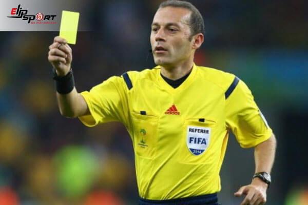 ý nghĩa của thẻ vàng trong bóng đá