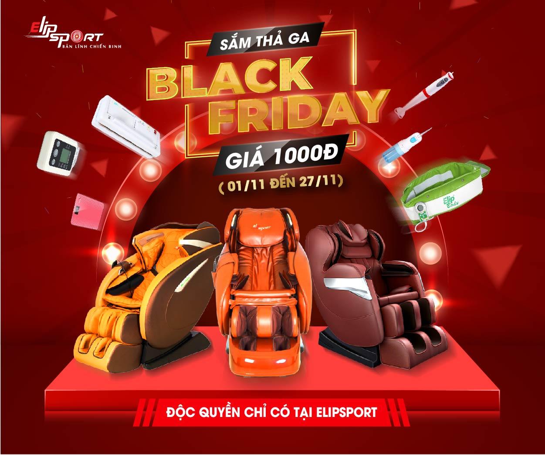 Black Friday Sắm Thả Ga - Deal 1K