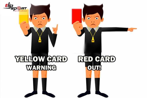 cách tính thẻ phạt trong bóng đá