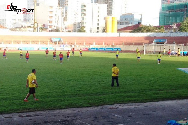 sân bóng đá Hải Phòng