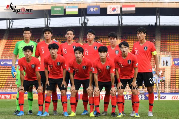 Đội Hình Bóng Đá Hàn Quốc U23 Bao Gồm Những Cái Tên Nào