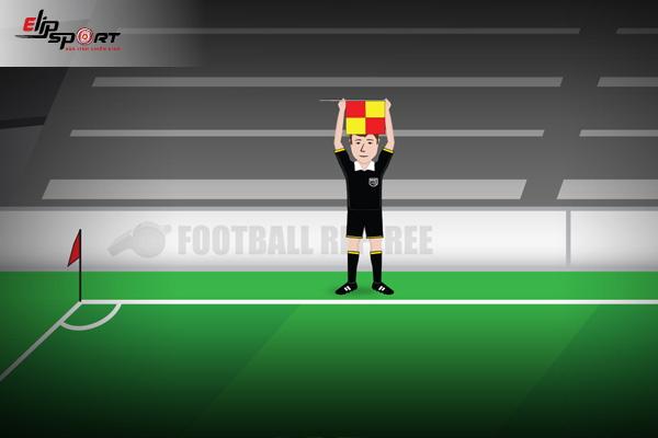 ký hiệu trọng tài trong bóng đá