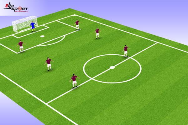 các đội hình bóng đá 7 người