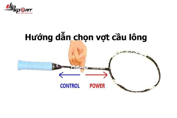 cách chọn vợt cầu lông