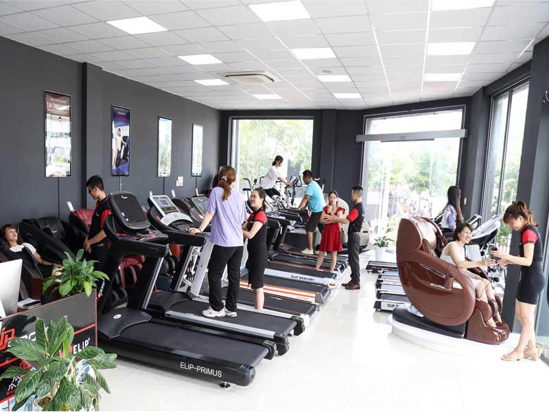Cửa hàng dụng cụ, thiết bị máy tập thể dục thể thao TP. Biên Hòa - Đồng Nai
