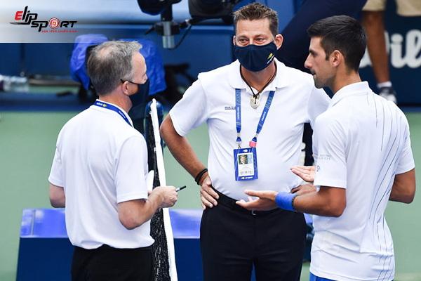 luật trọng tài tennis