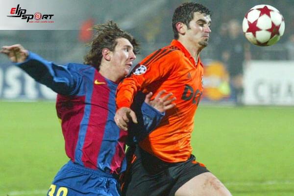huyền thoại bóng đá messi