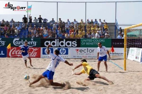 luật thi đấu bóng đá bãi biển