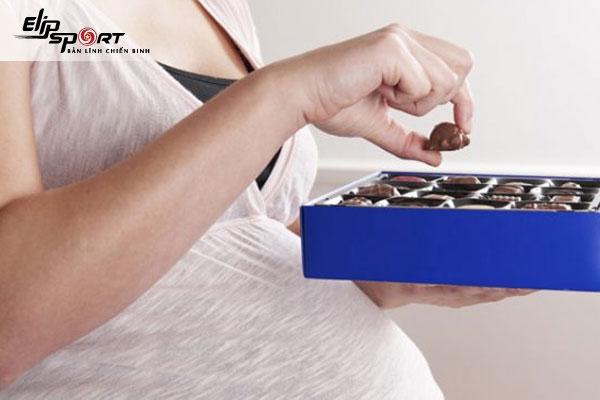 ăn chocolate có tốt cho thai nhi không
