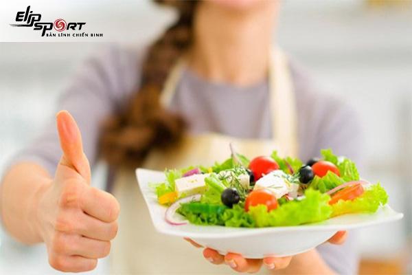 ăn nhiều rau có tăng cân không