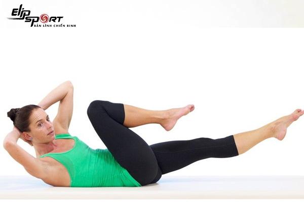 bài tập giảm mỡ bụng khi nằm