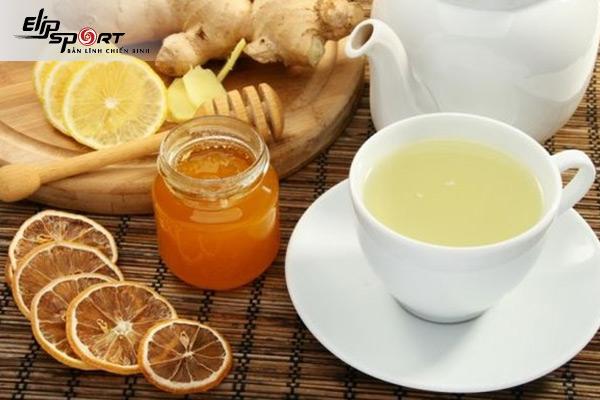 cách nấu trà gừng giảm cân