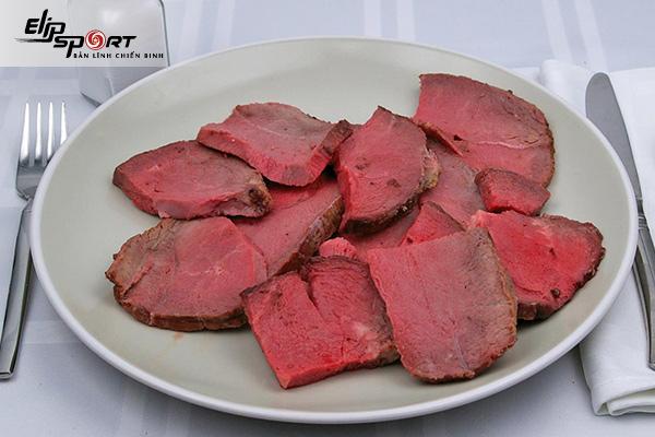 calo trong thịt bò