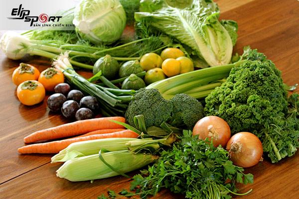 giảm mỡ phần thân trên bằng thực phẩm